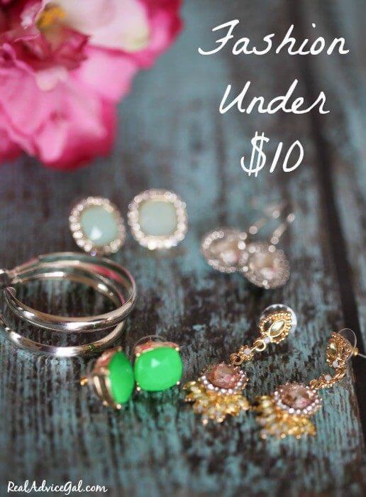 Fashion Under 10 Dollars