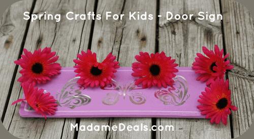 Spring crafts for kids 2