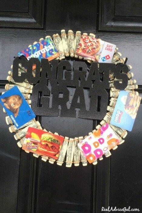 graduaton wreath