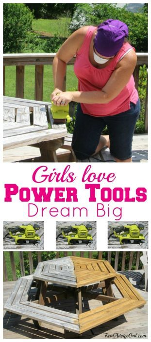 Girls Love Power Tools Dram big and create your own party station Join the Ryobi Nation