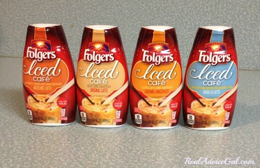 Folgers Iced Café Coffee Drink Concentrates