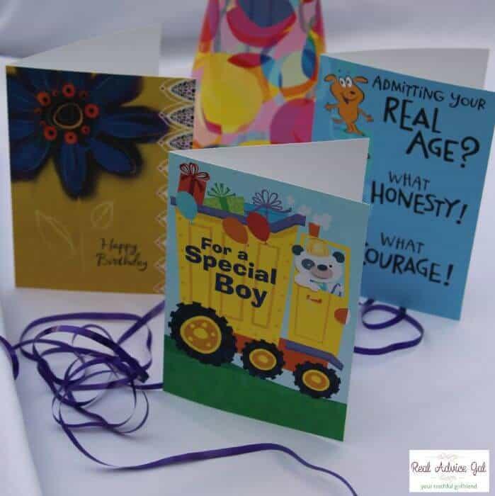 Fill Your Greeting Card Organizer Box