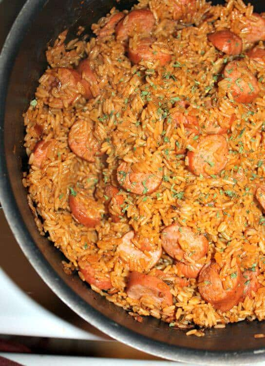 One Pot Jambalaya With Turkey Sausage Recipe
