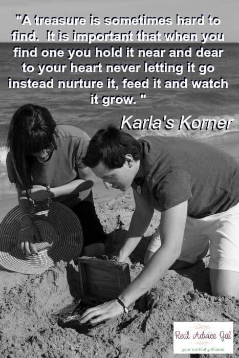 Karla's Korner: Digging for Treasure