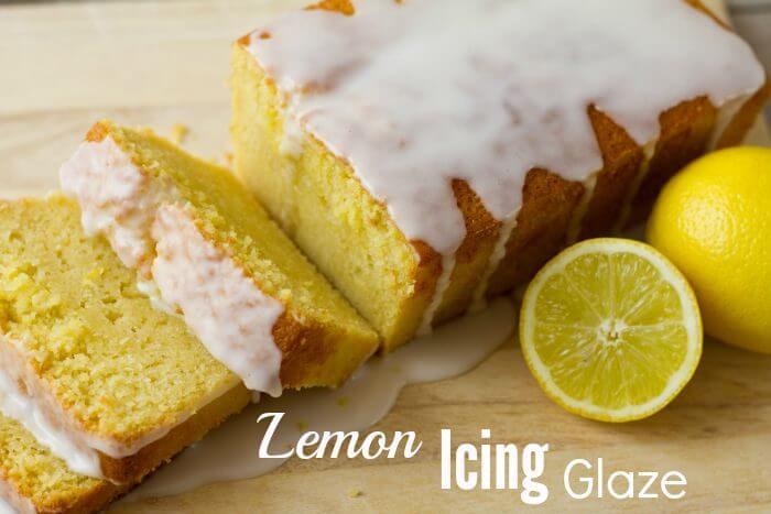 Lemon Icing Glaze Recipe