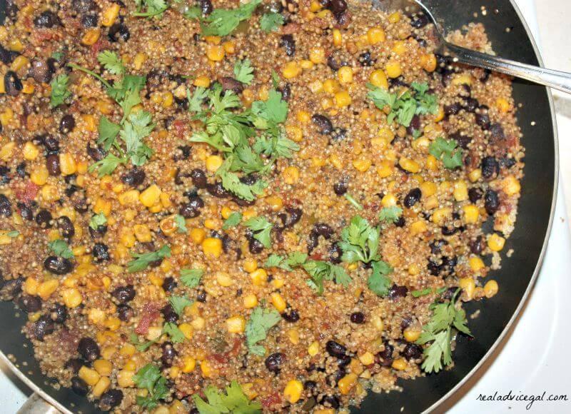One Pan Mexican Quinoa Recipe
