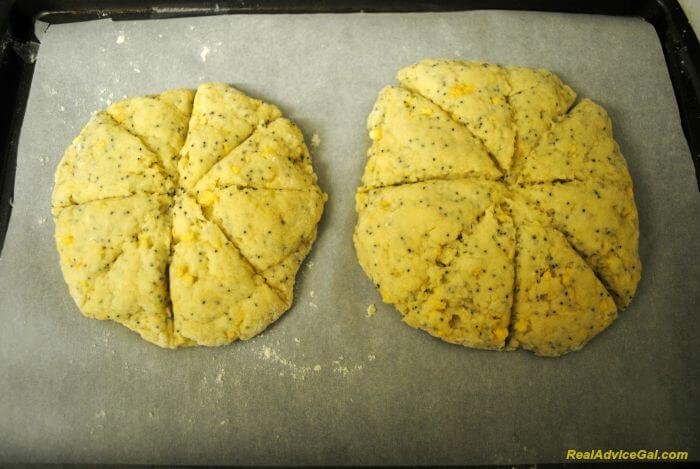 Lemon scones