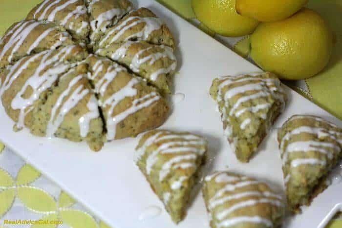 Lemon scones 3