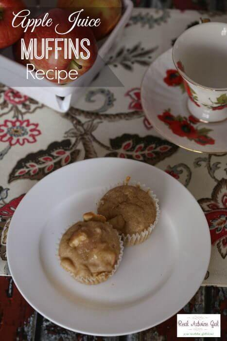 Apple Juice Muffins Recipe