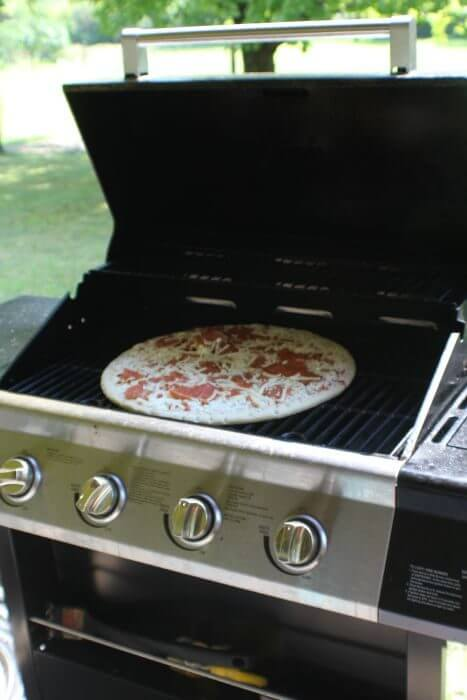 effortless meals pizza on the grill