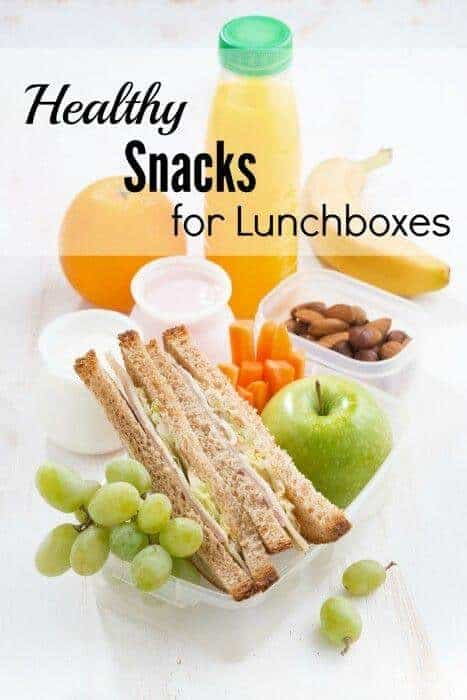 15 Healthy Snacks for Lunchboxes
