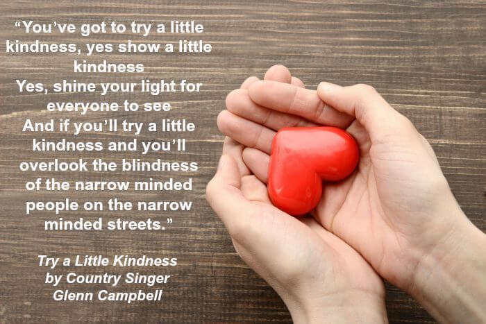 Karla's Korner: Try A Little Kindness