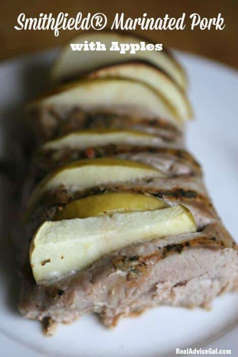 Smithfield® Marinated Pork with Apples