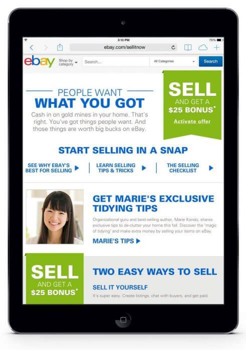 eBay Valet