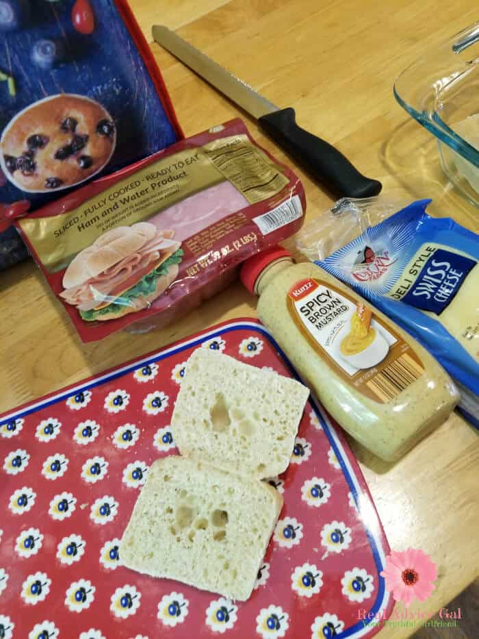 Prepare this yummy hot ham and cheese sandwiches recipe on your next tailgating party