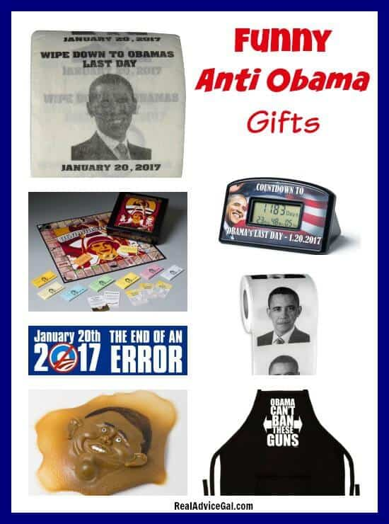 Funny Anti-Obama Gift Ideas