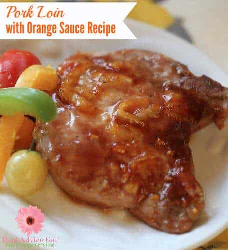 Pork Loin With Orange Sauce Recipe