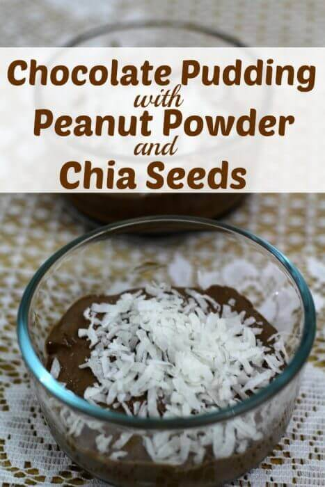 Chocolate Peanut Powder Recipe with Chia Seeds