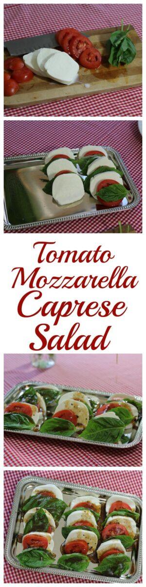 Tomato Mozarella Caprese Salad Recipe