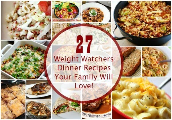Weight Watcher's Recipes with Points Plus for weight loss