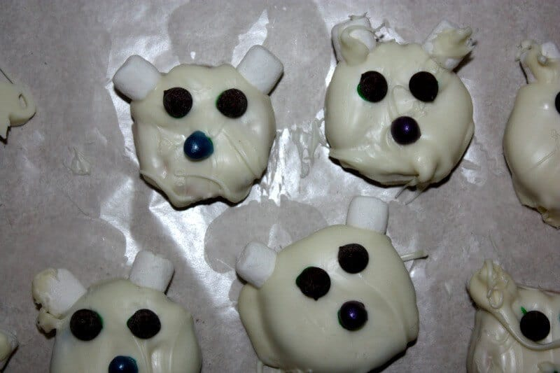 polar bear easy cookies