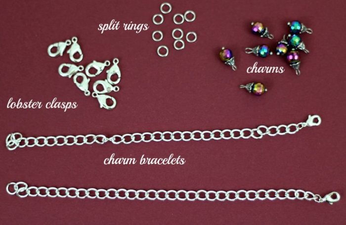 charm bracelet supplies needed