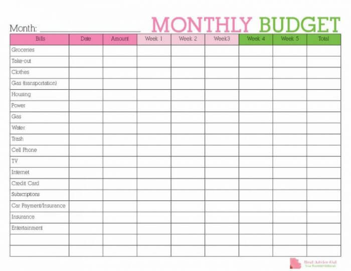 photo relating to Printable Budget Calendar referred to as How in the direction of Conserve Economic as a result of Employing a Calendar - Accurate Guidance Gal