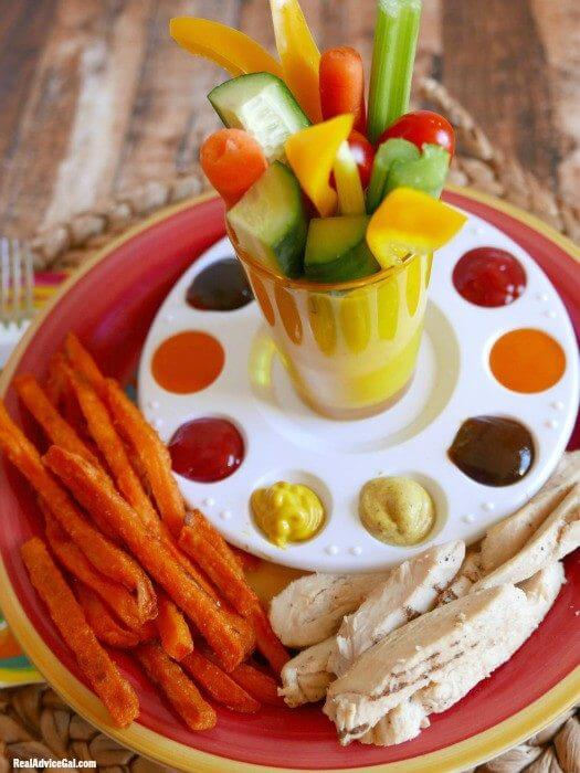 Healthy Eating is Delicious with NatureRaised Farms® Chicken & Alexia® Sweet Potato Fries