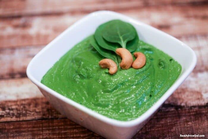 Gluten Free Dairy Free Spinach Dip Recipe