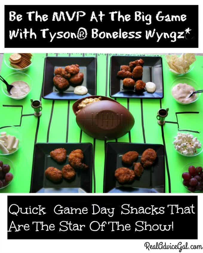 Be The MVP At The Big Game With Tyson® Boneless Wyngz*
