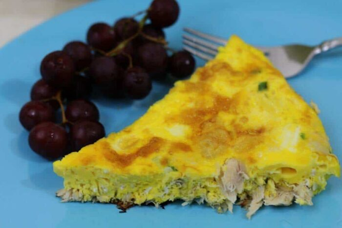 Quick Frittata recipe with Tuna