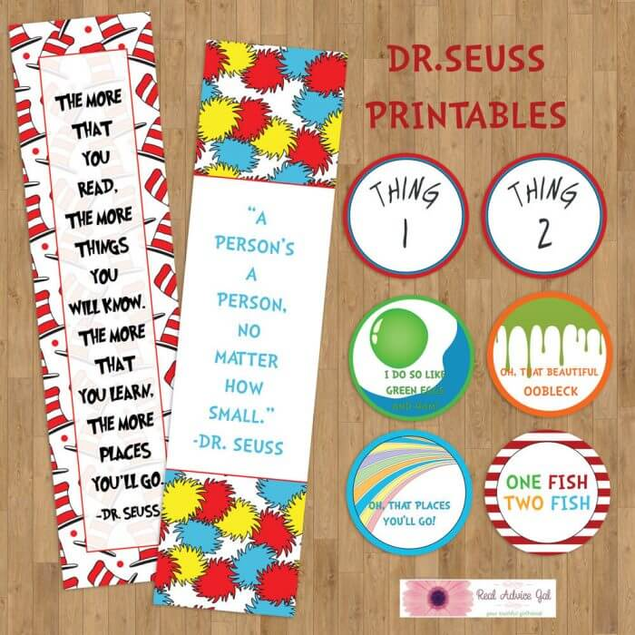Printable Dr Seuss for Kids