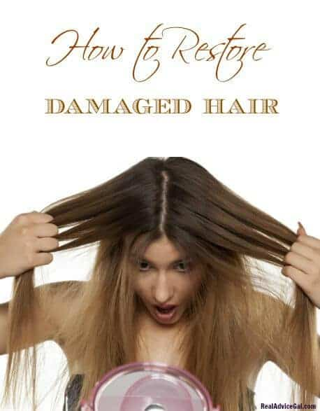 Tips on how to restore damaged hair