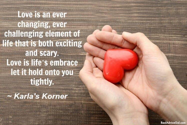 Karla's Korner: Defining Love