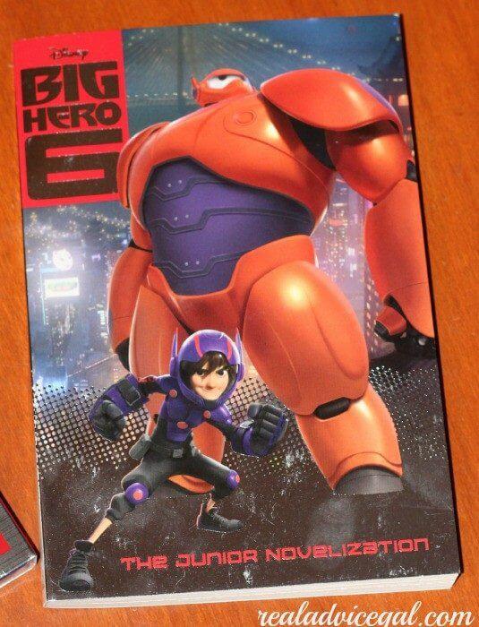 Big Hero 6 movie book