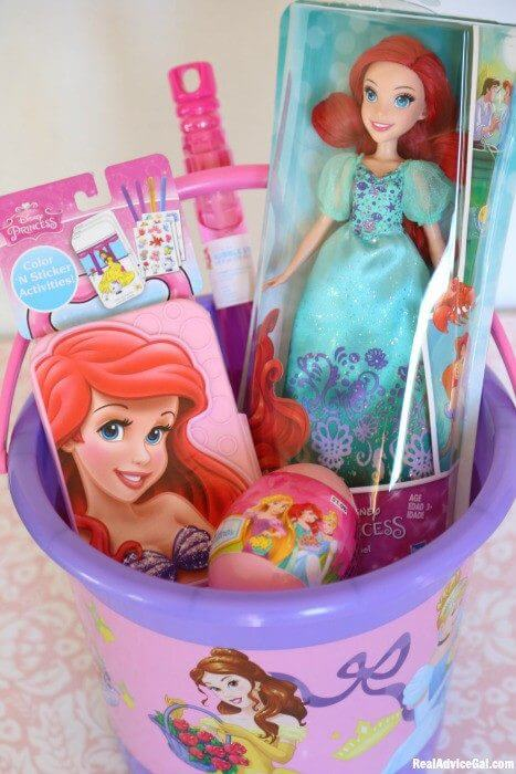 Fun Kids Easter Basket Ideas with ©Disney Princess from Walmart