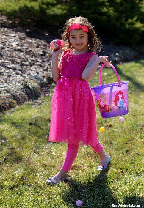 Kids Easter basket ideas with ©Disney Princess from Walmart