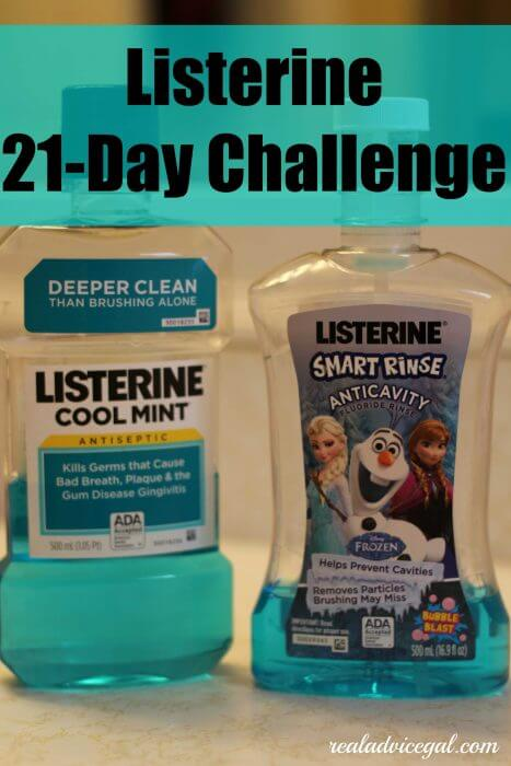 Listerine 21 day challenge done