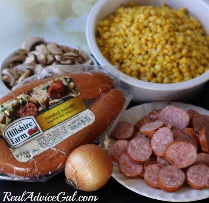Smoked Sausage Corn Chowder Ingredients Hillshire Farms