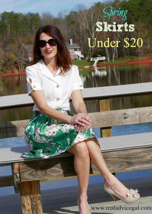 Flower Skirt On A Budget