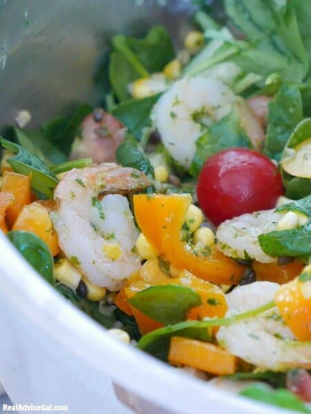 Easy shrimp salad recipe