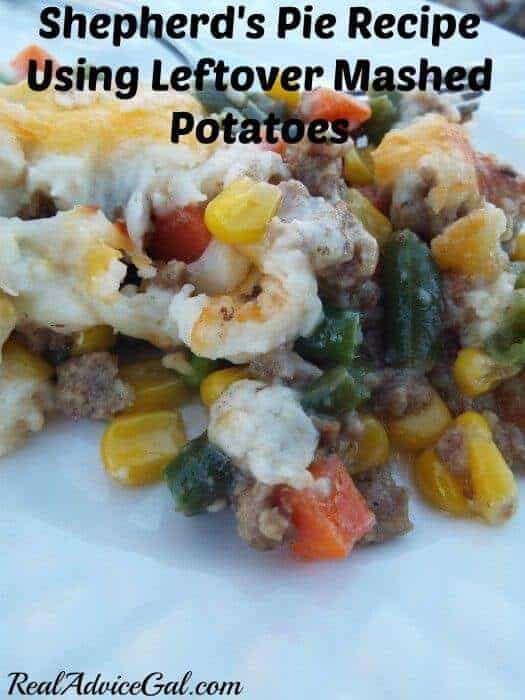 Easy Shepherd's Pie Recipe Using Leftover Mashed Potatoes