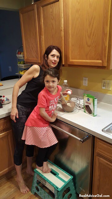 Baking with kids using Pillsbury gluten free products