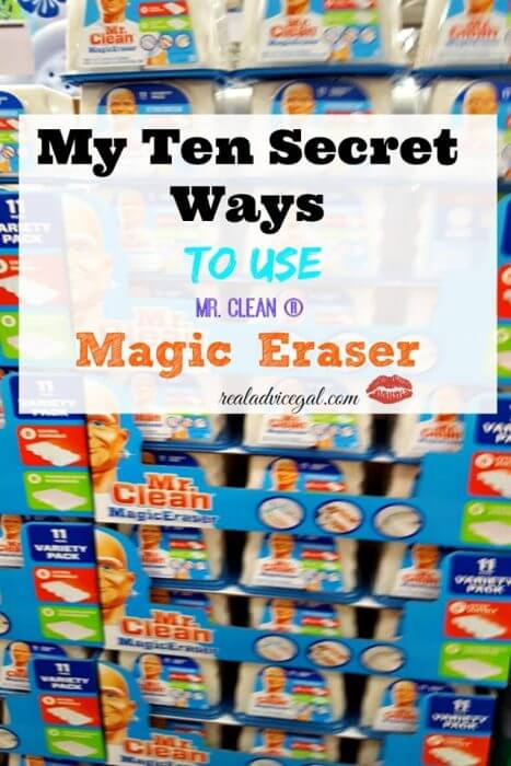 10 ways to use Mr. Clean Magic Eraser