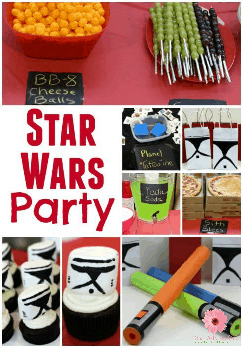 Ideas for Star Wars Birthday Parties