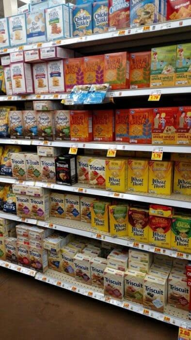You can find TRISCUIT crackers at Kroger