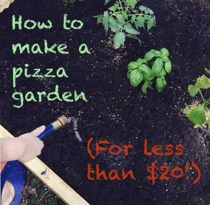 How to Make a Pizza Garden