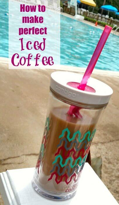 How to make the perfect iced coffee to take to the pool