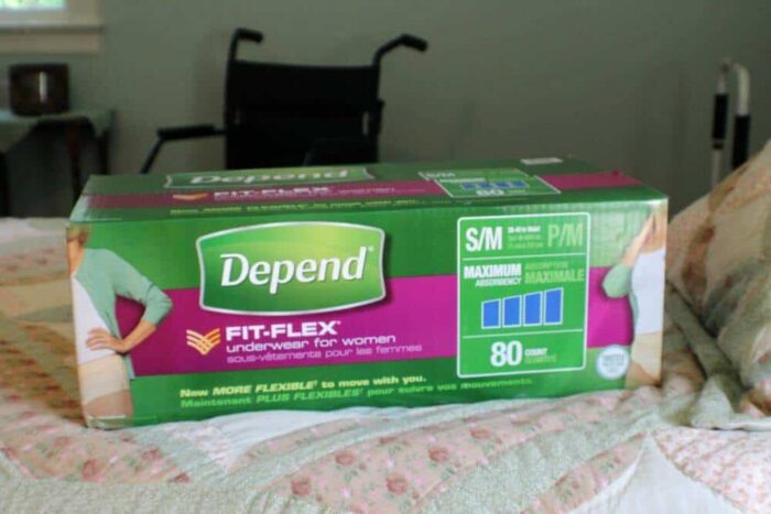 Depend Fit-Fex for Women are a great way to keep your elederly loved one up and moving and very comfortable