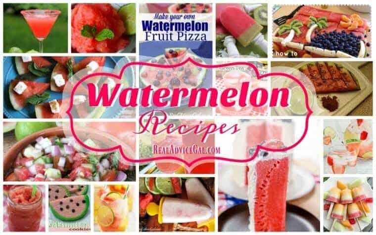 Easy Watermelon Recipes